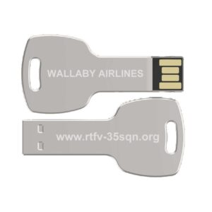 Wallaby Airlines Flash Drive - $7 ea.Includes Postage. Comes with over 400 Stories and a Photo